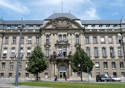 photo de la prefecture du bas rhin