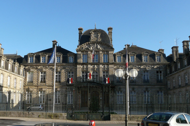 photo de la prefecture du morbihan