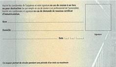 que faire de la carte grise en cas de vente Coupon détachable de la carte grise : à quoi cela sert ? Eplaque.fr