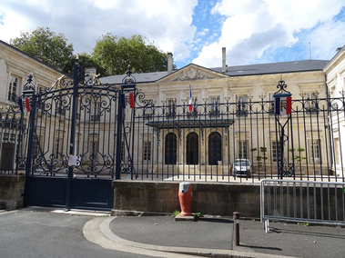photo de la prefecture du yonne