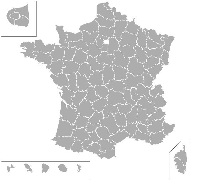 PLaque d'immatriculation en France