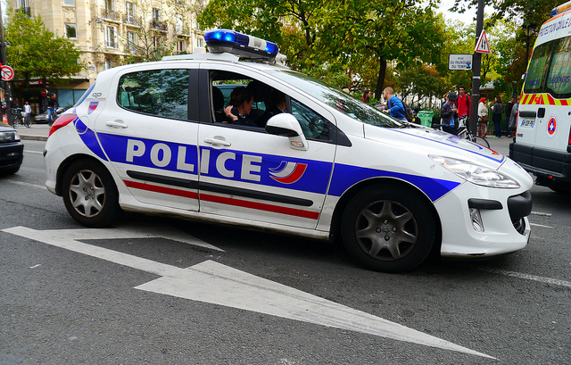 véhicule du parc de la préfecture de police de Paris