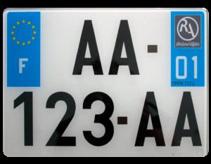 plaque 4x4