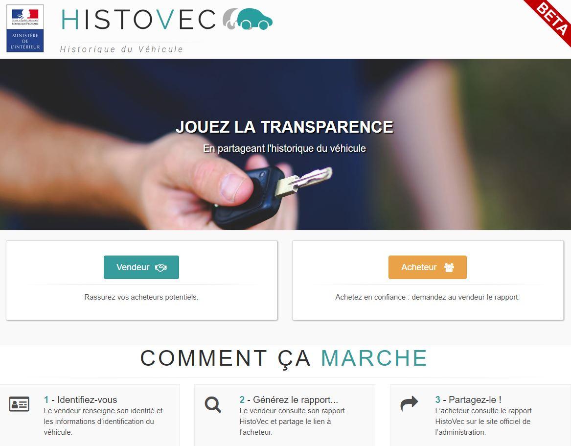 Histovec Nouvel Outil Pour Verifier Le Parcours D Un Vehicule D Occasion